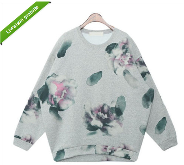 sweater flowers