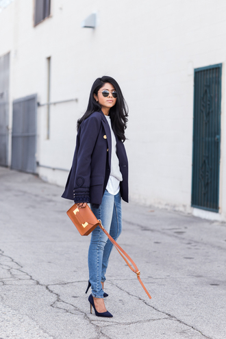 walk in wonderland blogger mini shoulder bag rust bag