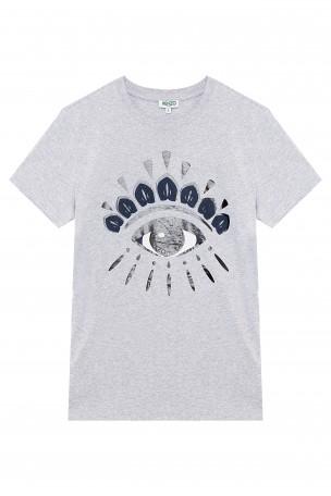 KENZO - Grey One Eye Top | Boutique1.com