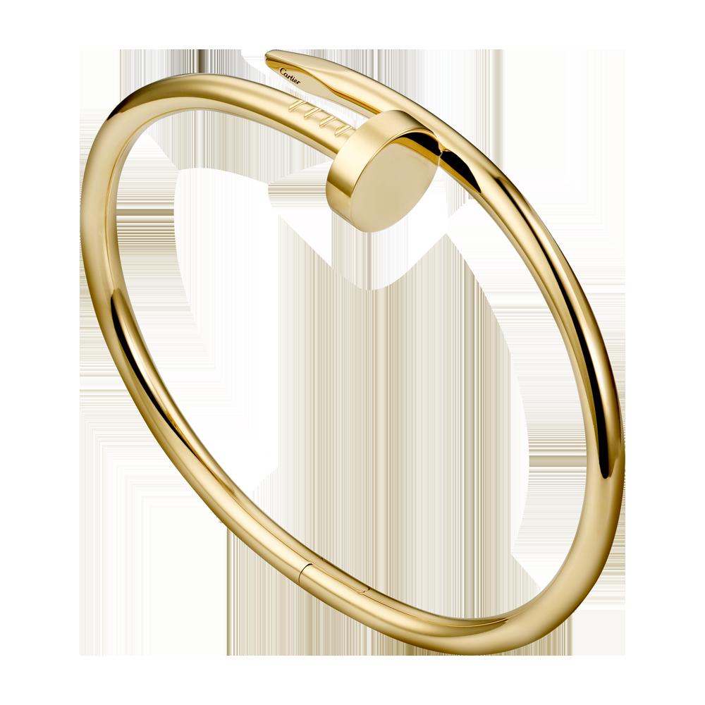 Juste un Clou bracelet - Yellow gold - Fine Bracelets for men and for women -  Cartier
