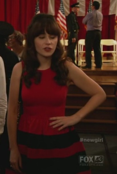 dress new girl jess day zooey deschanel