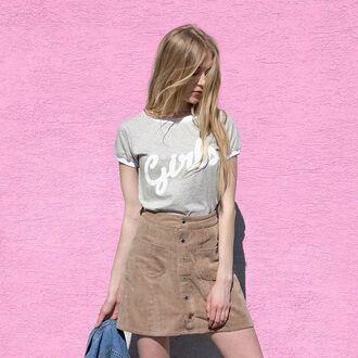 shirt yeah bunny brown retro corduroy latte 28719 button up