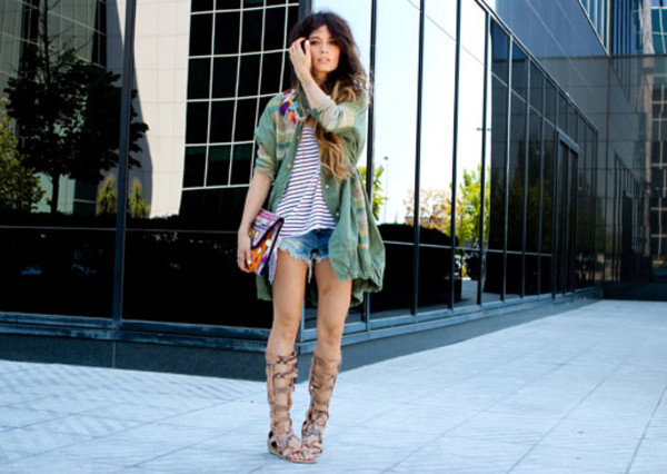 madame rosa coat t-shirt jeans shoes bag