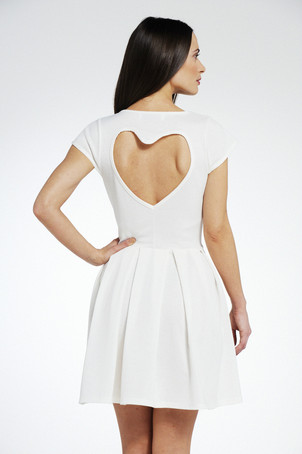 ASOS HEART CUT-OUT DRESS on The Hunt