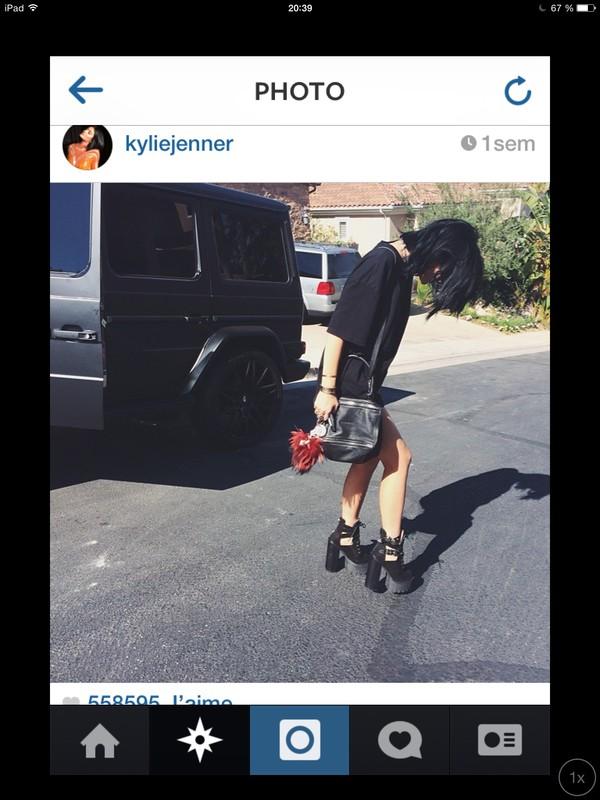 shoes black kylie jenner hells dress