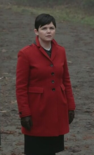 coat red once upon a time show mary margaret blanchard ginnifer goodwin burberry