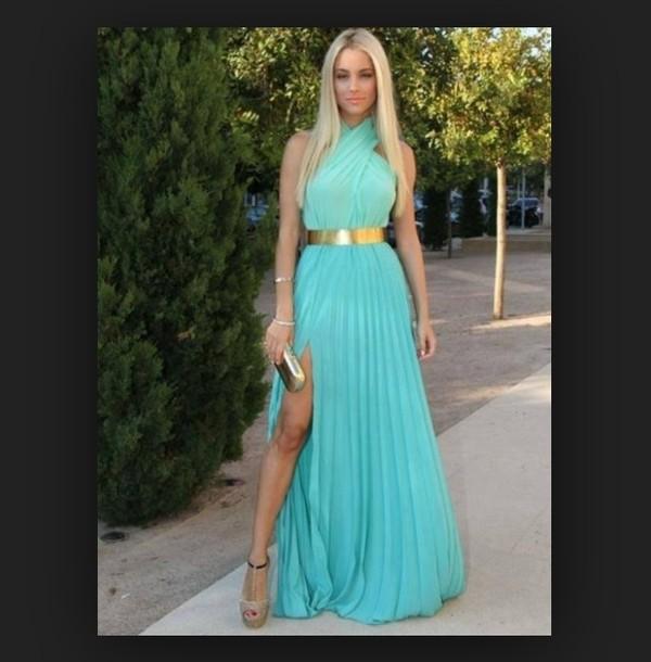 dress long prom dress light blue prom dress long prom dress blue prom dress chiffon dress chiffon prom dress light blue dresses formal dress formal event outfit