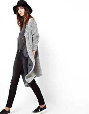 ASOS | ASOS Jacket in Longline Texture at ASOS