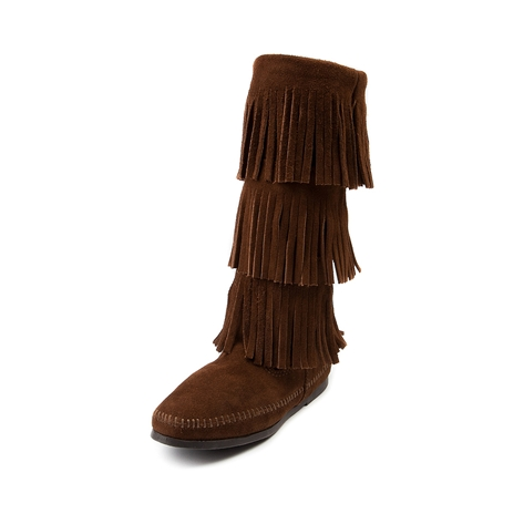 Womens Minnetonka Jody Boot, Brown, at Journeys Shoes