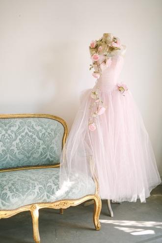 dress vintage dress vintage lingerie light pink vintage girly ballerina gown romantic