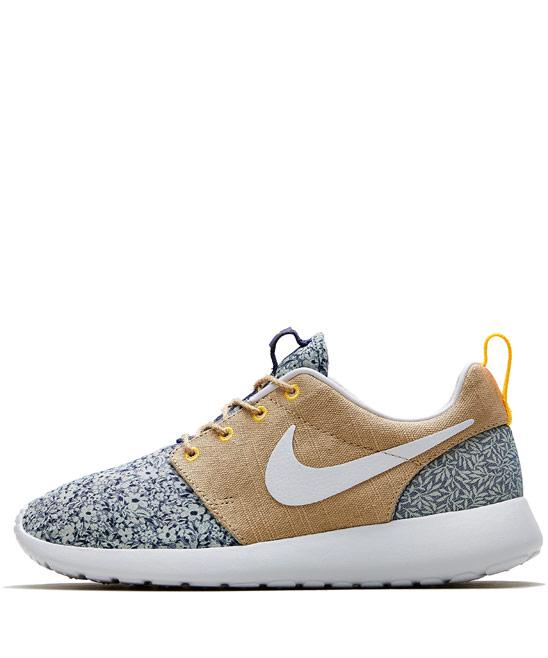 Nike x Liberty Light Blue Anoosha and Lora Liberty Print Roshe Run Trainers | Shoes by Nike x Liberty | Liberty.co.uk