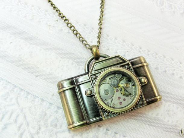 jewels camera necklace camera vintage vintage necklace vintage necklaces