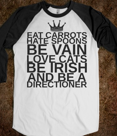 """BE A DIRECTIONER"" - One Direction Infection! - Skreened T-shirts, Organic Shirts, Hoodies, Kids Tees, Baby One-Pieces and Tote Bags Custom T-Shirts, Organic Shirts, Hoodies, Novelty Gifts, Kids Apparel, Baby One-Pieces 