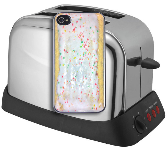 Poptart  Toaster Pastry   iPhone 4/4S5/5S and by RiverCityPrinting