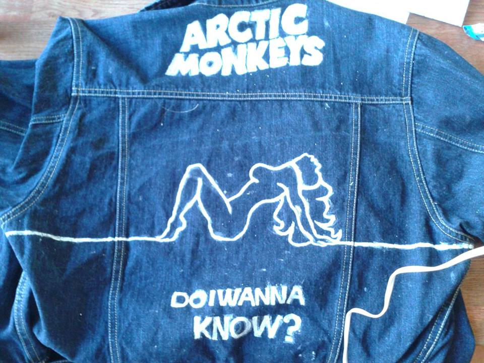 Arctic Monkeys custom made do i wanna know? jacket by chocolatwolf on deviantART