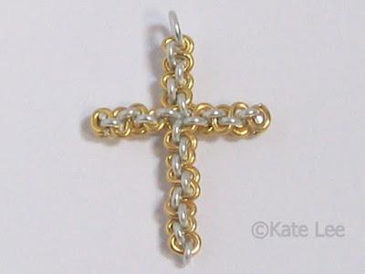 Wire Cross Pendant