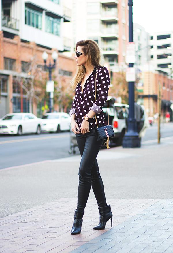 sunglasses jewels blouse bag pants shoes