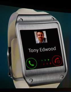 Samsung GEAR Smartwatch - de Galaxy smartwatch van Samsung