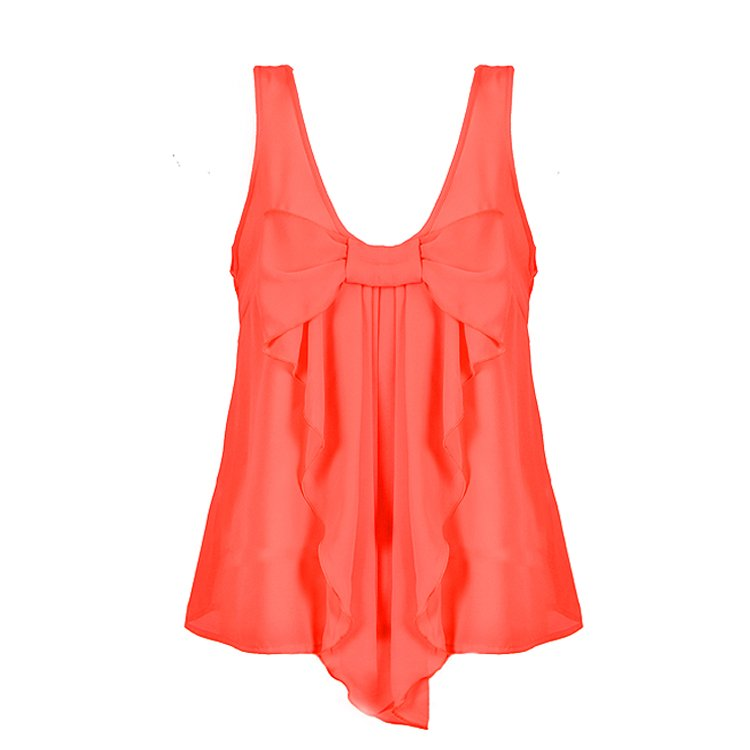 BOW FRONT TOP - Ally Fashion