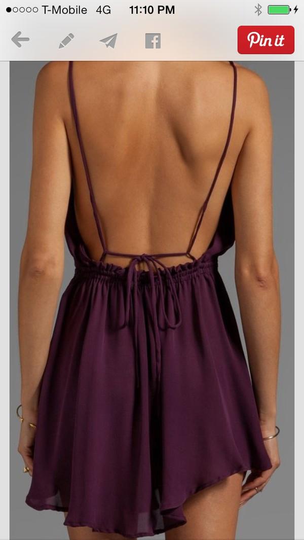 dress royal purple