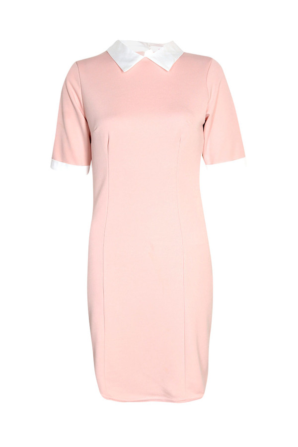 dress collared dress