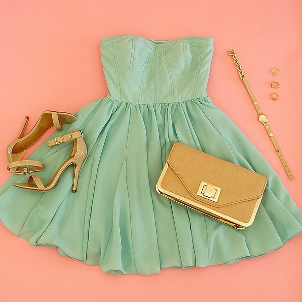 dress clothers mint dress