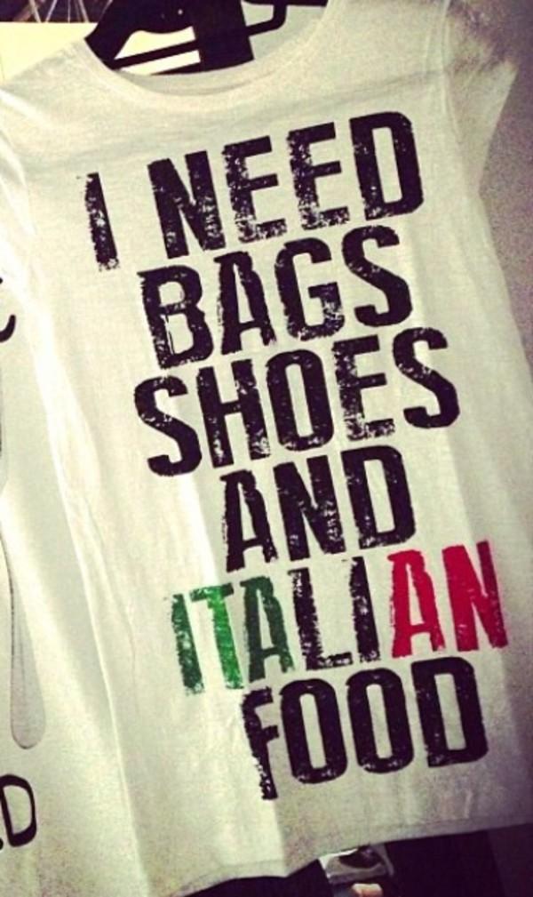 t-shirt clothes t-shirt style bag shoes italian italian design