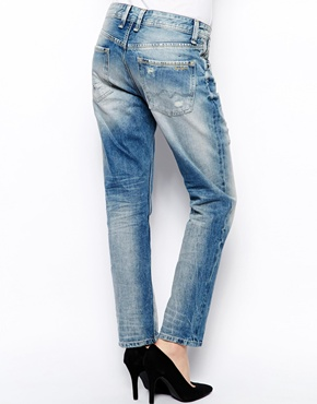 Pepe Jeans   Pepe Jeans Distressed Boyfriend Jeans at ASOS