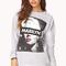 Street-chic marilyn monroe sweatshirt   forever21 - 2000066503