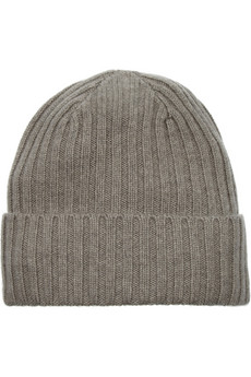 N.Peal Cashmere Ribbed cashmere beanie - 50% Off Now at THE OUTNET