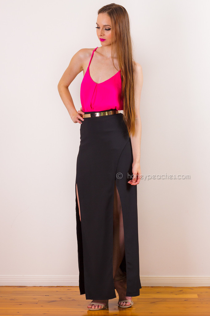 Sway With Me Maxi Skirt – Honey Peaches