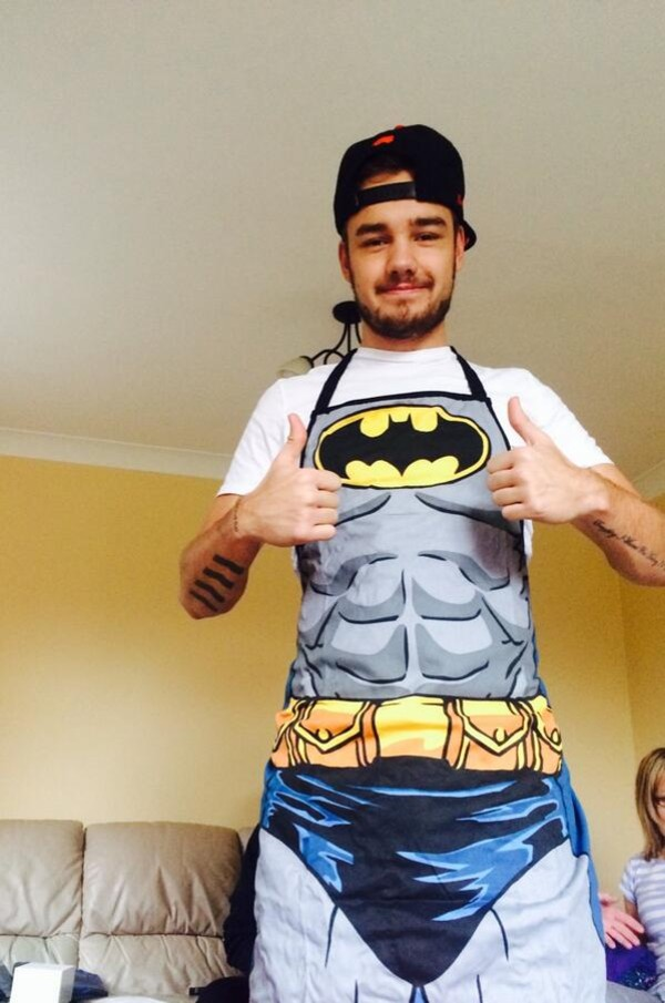 blouse liam payne top batman apron