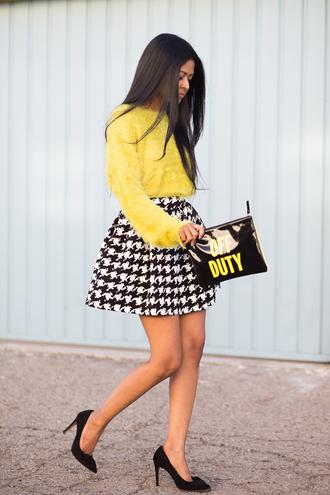 walk in wonderland t-shirt skirt bag shoes