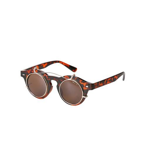 Gafas de sol retro - Marrón - Accesorios - Mujer - Promod