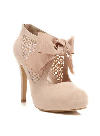Sally Nude Town Shoe - Heels  - Shoes on Wanelo