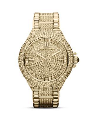 Michael Kors Camille Watch, 44mm | Bloomingdale's