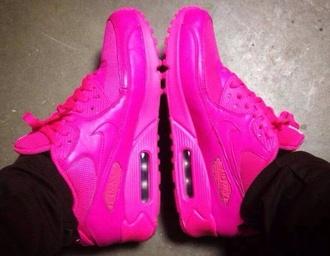 shoes air max pink bright pink