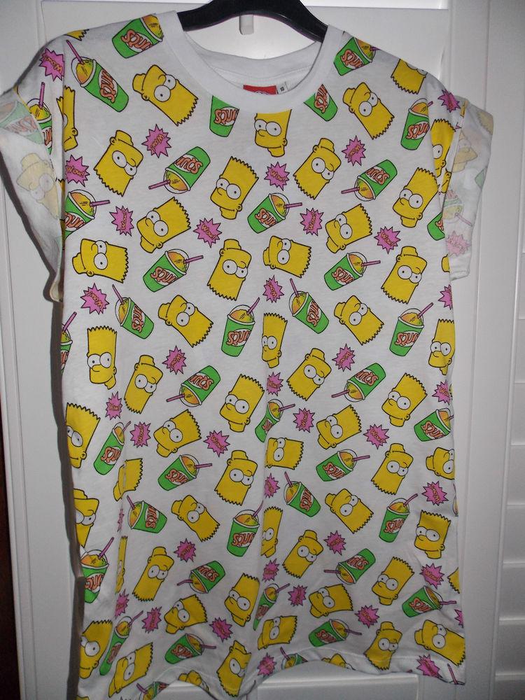 BART SIMPSON THE SIMPSONS T Shirt Tee Top UK 6-20 Primark | eBay