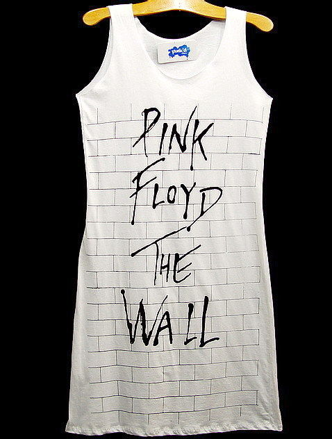 Pinkfloyd The Wall 70s Rock Tunic Top Dress Floyd s M | eBay