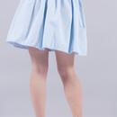 Jupes évasées, Jupe patineuse bleu pastel taille élastique  est une création orginale de Lucile-Couvee sur DaWanda