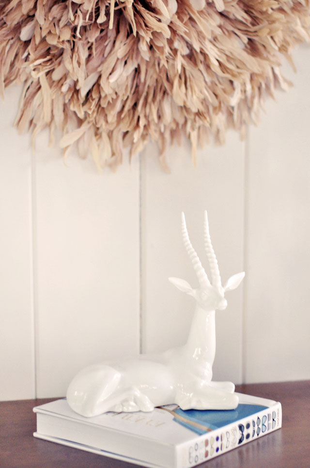 Feather Wall Art DIY African Juju Hat Tutorial | ...love Maegan