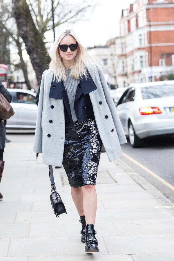the fashion guitar jacket sweater skirt coat shoes bag sunglasses