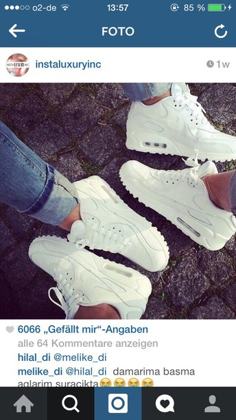 shoes white nike running shoes air max sneakers