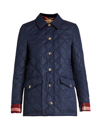 jacket quilted navy