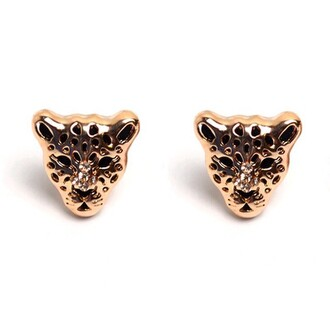 jewels jewel cult panther earrings animal designer inspired panther earrings crystal