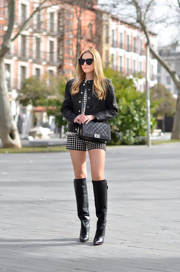 oh my vogue t-shirt shorts jacket bag shoes sunglasses