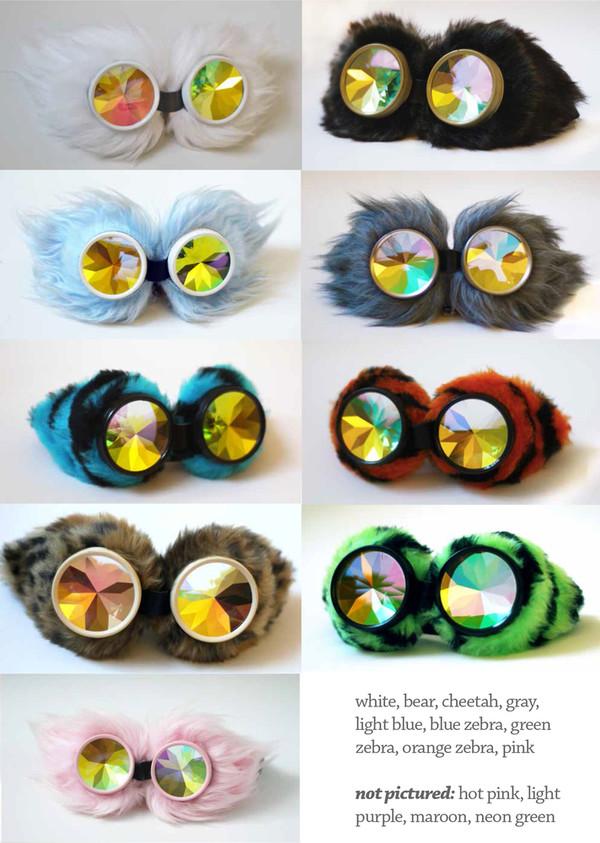 sunglasses sweet original kaleidoscope multicolor psychedelic