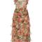Giovanna garden chiffon midi dress | moda operandi
