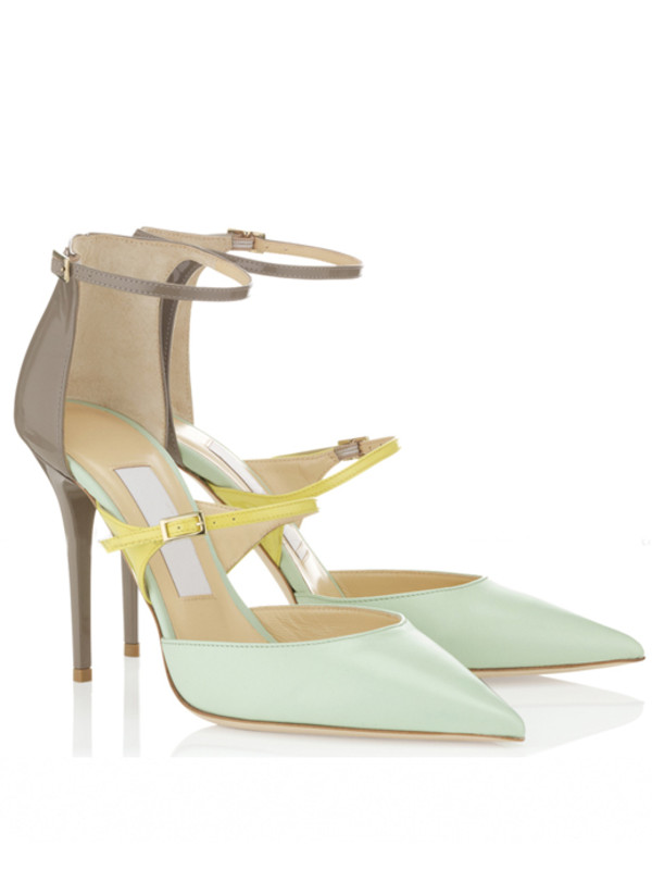 shoes heels colorblock rome brand 2014 new party office outfits summer spring