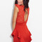 Lace peplum dress - furor moda - tops - dresses - jackets - vintage